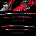 Special Offer Home Metal Decoration Japanese Samurai Sword Damascus Folded Steel Katana Blade Practical Sharp Knife