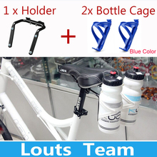 Buy Aluminum Alloy Bicycle Water Bottle Holder portabidon doble Bicycle Cycling Holder Bracket Double Water Bottle Cages holder for $8.02 in AliExpress store