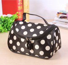 10 different models of side zipper cosmetic bag   cosmetic tool storage bag  multi-function storage bag  free shipping S386