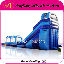 Good Quality Inflatable Water Slide With Pool For Sale Water Children's Slide For Sale Inflatable Bouncer(China (Mainland))