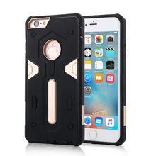 "4"" 4.7"" 5.5"" Dual Color Combo Back Cover For Apple iPhone 6 Plus 6s 5 5s SE Armor Phone Cases Hockproof Protective Coque Etui"