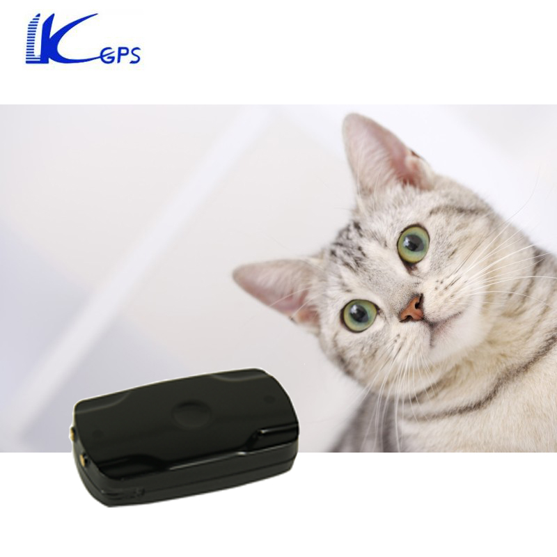 LK120 Waterproof Mini GPS Tracker For Cat Dog 500mAh Battery 240Hours Standby USB GPS Tracker Pet For Mini Animal With Collar(China (Mainland))