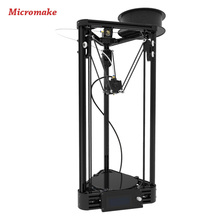 Micromake 3D printer pulley version DIY kit Metal Printer 3d-Printer Kossel Delta 3d Printer Kit