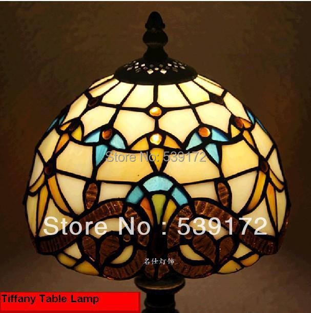 Free Shipping 8 Inch Shell lamps,tiffany tables lamp,Free 5W E27 LED Bulb for promotion, Lamps for home Input90-260VAC TEN-T-009<br><br>Aliexpress