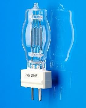 FTM CP/72 230V 2000W GY16 lamp,CP72 220-240V 230V2000W halogen bulb,equal OSRAM 64788 PH 6994P stage ship light,CE ISO9001(China (Mainland))