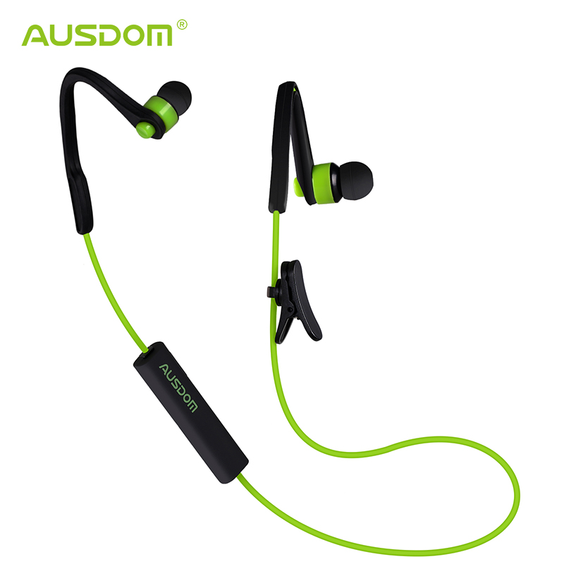 AUSDOM S07 Bluetooth earhpone Wireless Headset Stereo Handsfree In-ear Music Player for iPhone iPad Samsung Phones Tablets