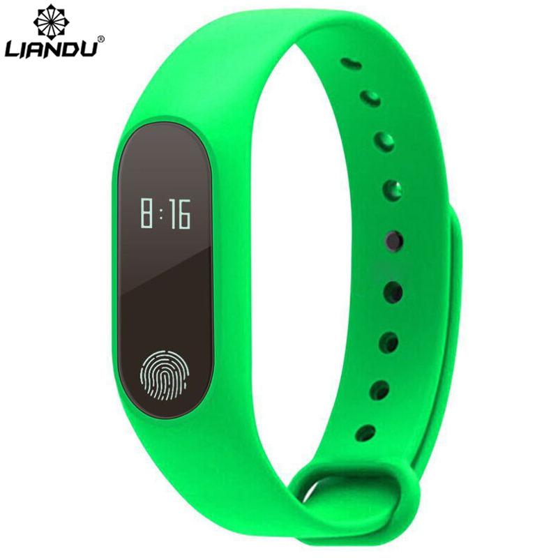 Original Men&Women M2 Smart Bracelet Wristband Fitness Tracker Bracelet Heart rate Monitor Watch(China (Mainland))