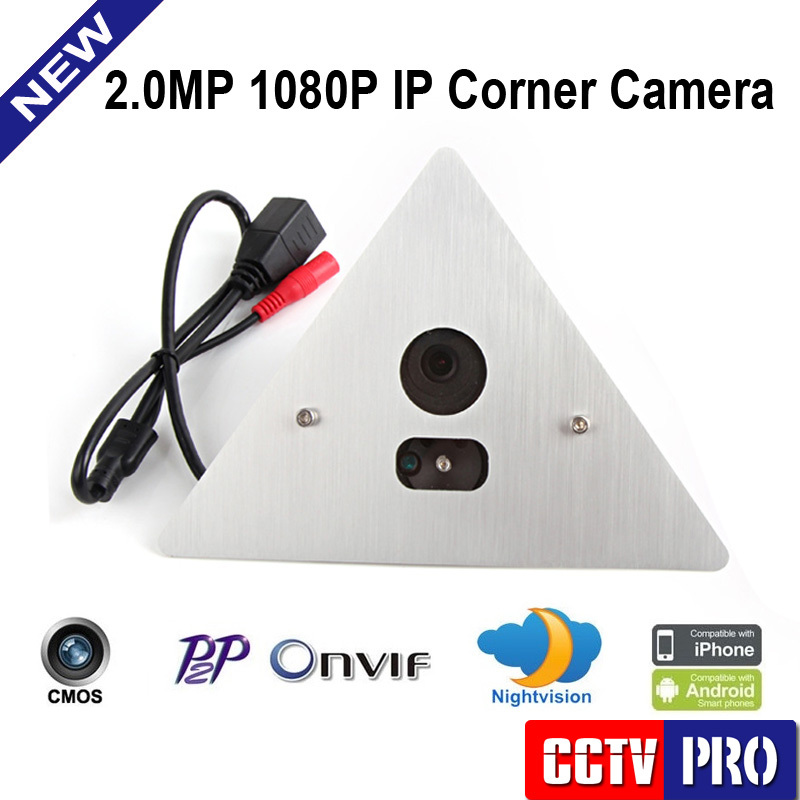 HD 2MP 1080P Mini IP Camera Securiy ONVIF Elevator Lift Use Network CCTV Camera Video Surveil Megapixel 3.6mm Lens With Mic(China (Mainland))