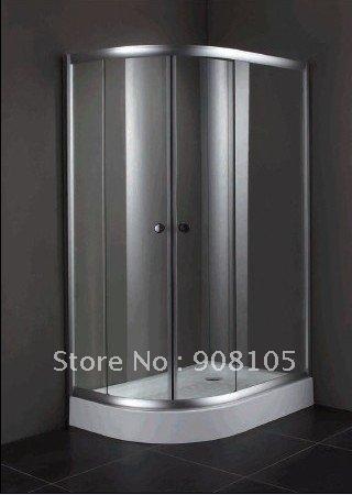 OEM simple shower door/6mm toughened glass shower room/sliding doors /shower enclosure(China (Mainland))