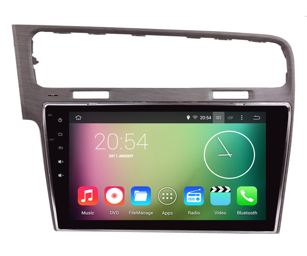 Android 4.4.4 HD 1024*600 Quad core 16GB Car DVD Player Radio GPS Navigation Stereo For Volkswagen VW Golf 7 MK7 VII 2013-2015<br><br>Aliexpress