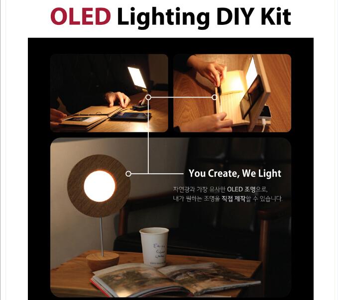revolution the generation of LED --OLED light -DIY single Kit(China (Mainland))