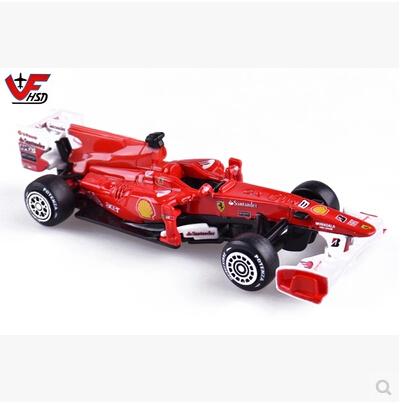 Bburago 1:43 F1 Racing Schumacher Original car model F2012-F-MASSA Racing Models Alonso Baby Toy Repair Kit Fast and Furious(China (Mainland))