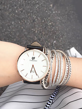 2015 Women Fashion Casual Leather Belt Dress Quartz Watch Hot In Europe And America Large Dial Couple Relogio Feminino Clock