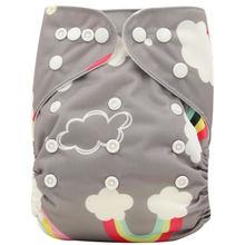 Ohbabyka Wasbaar Luiers Banken Lavables 2019 Nappy Luier Cover Wrap Baby Nappy Changing Herbruikbare Baby Doek Luiers(China)