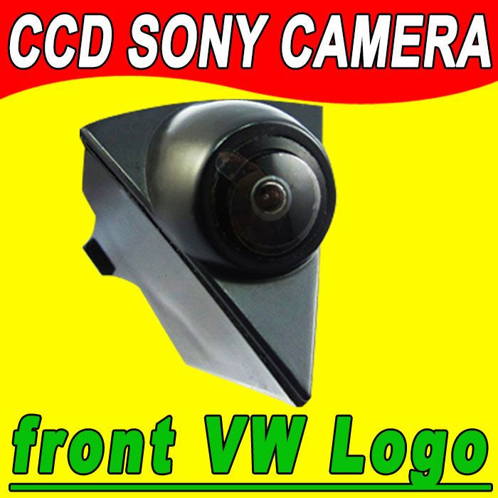 2015 Car VW Logo Front view camera for VW GOLF /Bora /Jetta /Touareg/ Passat/ Lavida/ Polo /Tiguan/ EOS/ GTI Car Front Camera(China (Mainland))