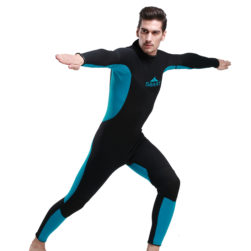 Hot Sale 3mm Men Neoprene Wetsuit Diving Winter Swimming Surfing Windsurfing Snorkelling Full Bodysuit Men Swimwear<br><br>Aliexpress