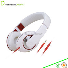 Dreamersandlovers Headphones w/ Microphone Inline Control for Travel Running Sports Headset Gaming Hifi Audio for Kids Men Woman