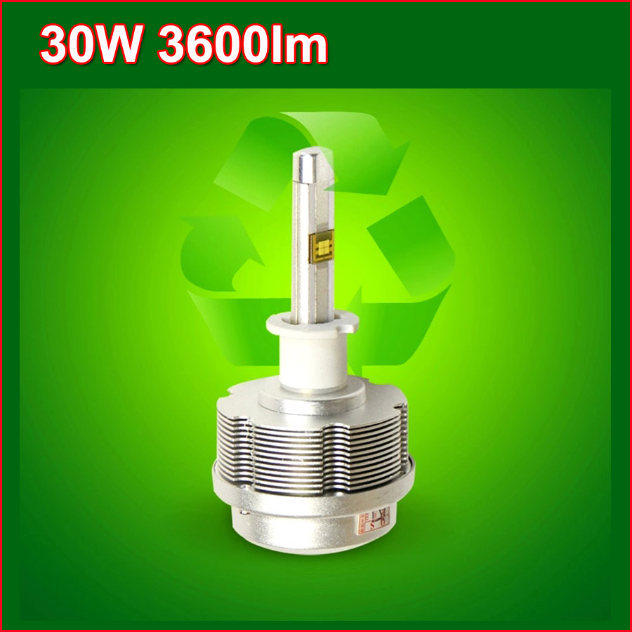 Car Headlights Gen 2S auto LED Headlight CREE H1 H3 H7 H8 h9 h11 H10 HB3 9006 HB4 9012 9005 LED Headlight 30W 3600LM 6000K Kit(China (Mainland))