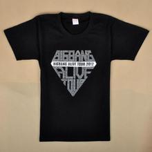Unisex KPOP BIGBANG ALIVI TOUR GD&T.O.P T-shirt S/M/L size hot fix rhinestone - products company store