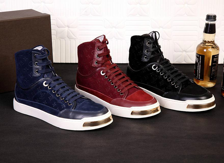 2015 Men's Fashion Sneaker Shoes Flat Genuine Leather Arena Sneakers Size 38-44 low Top Footwear Brand Casual Shoes(China (Mainland))