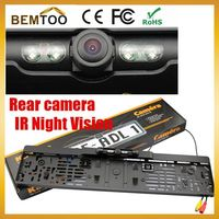 Free Shipping,Rear View Camera European License Plate Night Vision  For Rear View Camera ,parking camera