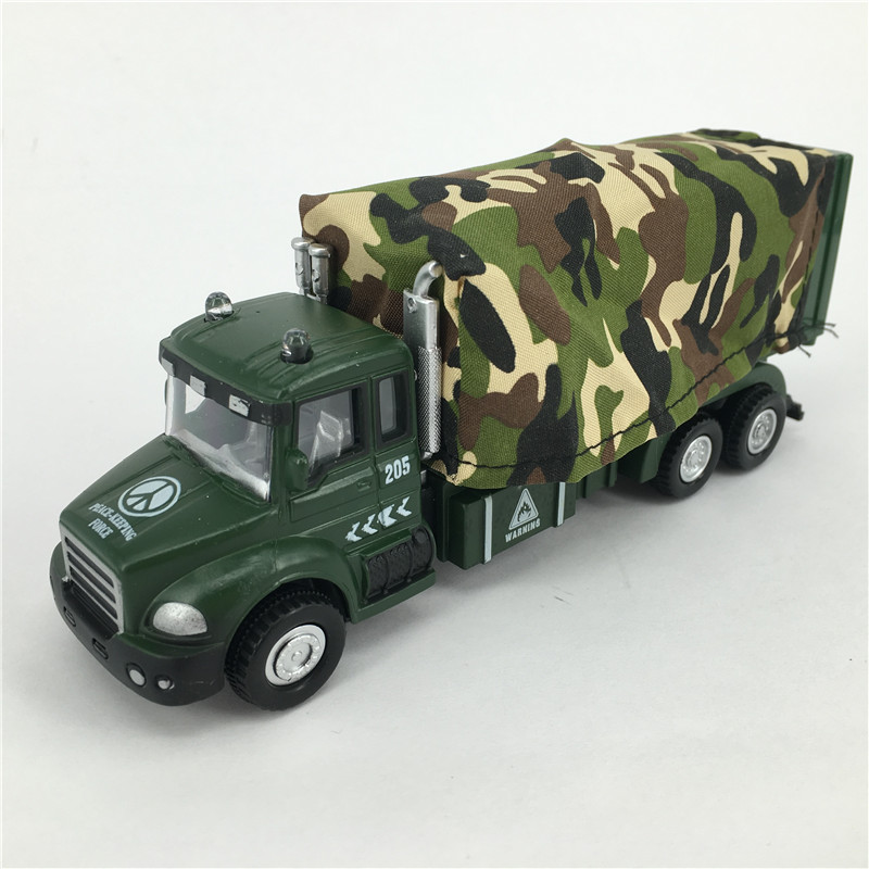Military Car Model 1:60 Simulating Truck Toys Die cast Metal + ABS Camouflage Car Toy For Collection Vehicle Brinquedos(China (Mainland))