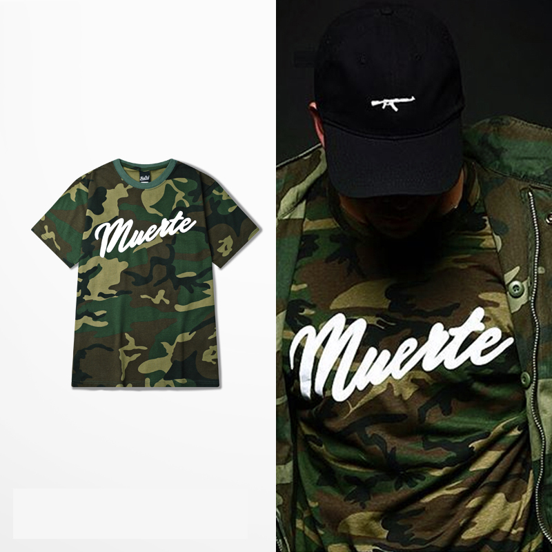 Camouflage men casual t-shirt Military Style Hip Pop man tshirt Print slim fit Fashion sport hombre jersey Loose sizze S-XXXL(China (Mainland))
