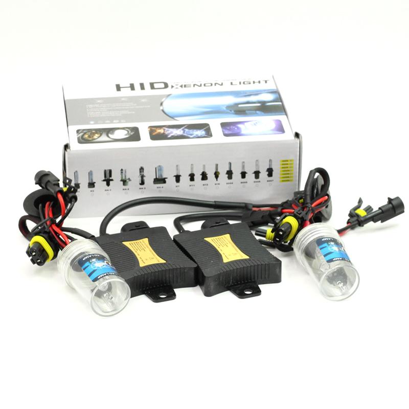 55W H8 H9 H11 Xenon Ballast Bulb HID KIT DC 12V Car Replacement Headlight Daytime Running Fog Light 4300K-15000K(China (Mainland))
