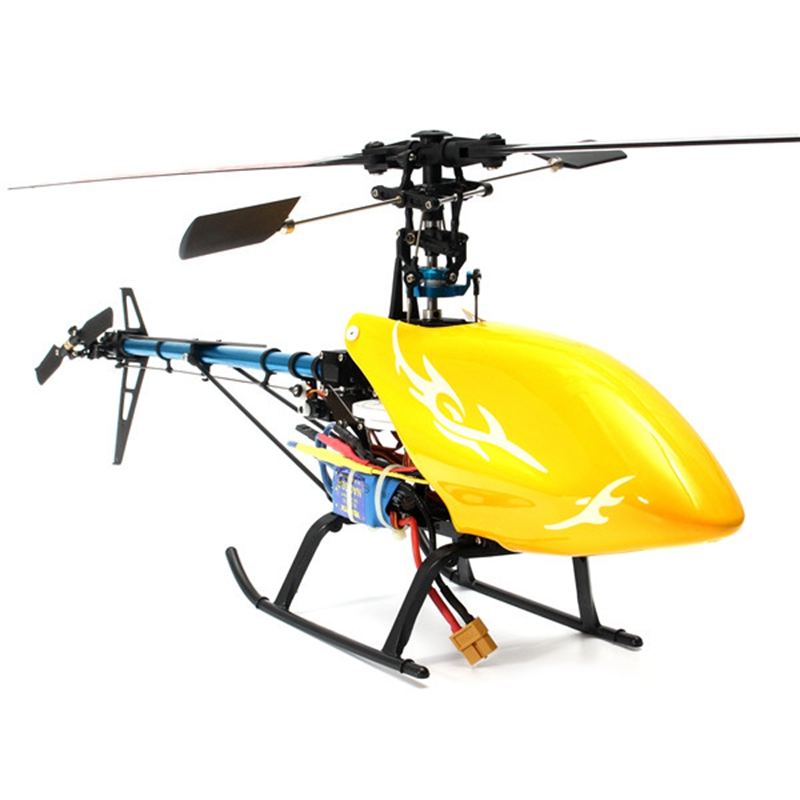 New Arrival XFX Trex 450 V2 6CH RC Helicopter Super Combo(China (Mainland))
