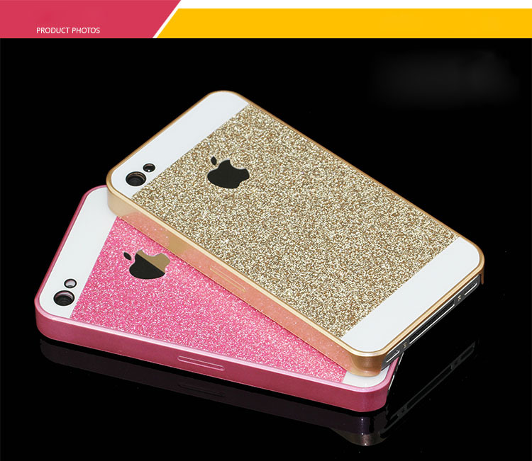 Case Design silicone phone cases : Shinny Bling Glitter Mobile phone Case Pink PC Protect Back Cover Case ...