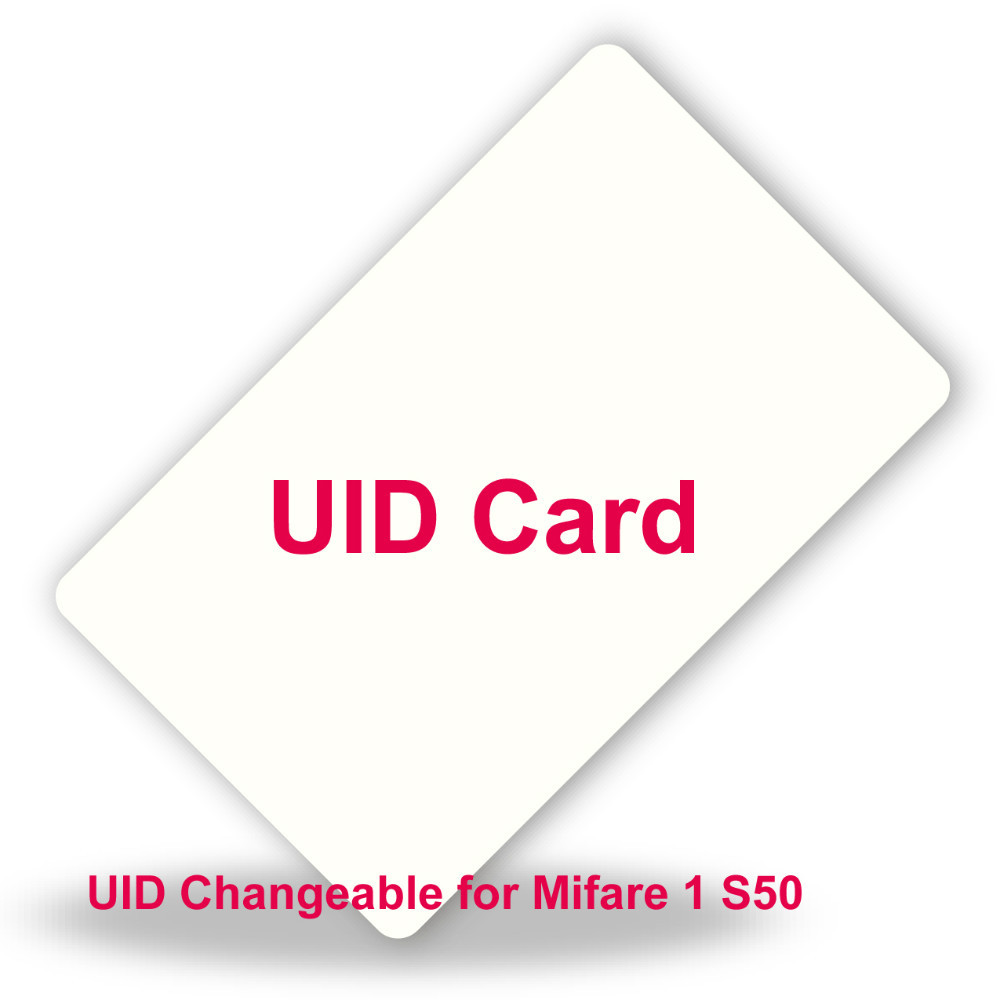 50pcs/lot UID Changeable RFID Card for MF 1k 13.56MHz card  Writable MF1 0 zero HF ISO14443A UID Card free shipping<br><br>Aliexpress