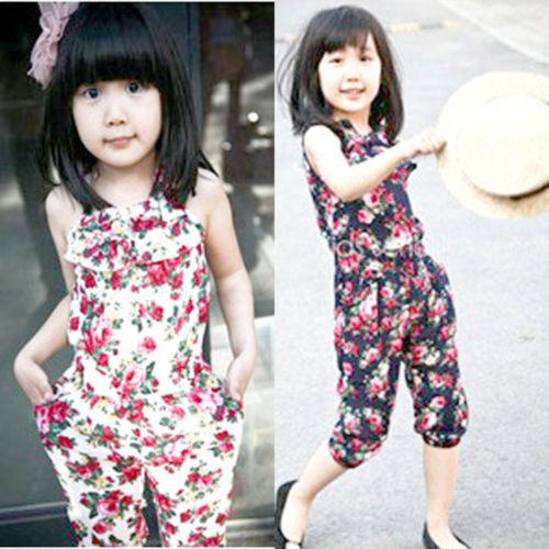 Free shipping 1pcs Girls Toddler Baby 2015 Short Summer Playsuit Soft Clothing Pants 2-8Y<br><br>Aliexpress