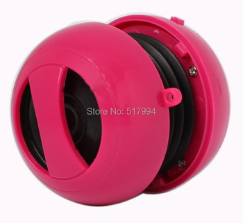 free shipping colors mini round hamburger mp3 portable phone speaker for promotion gift