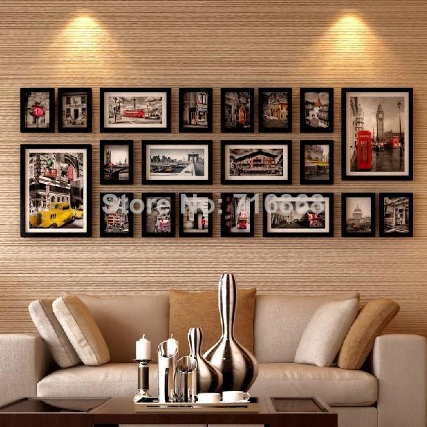 achetez en gros cadre photo ensemble en ligne des grossistes cadre photo ensemble chinois. Black Bedroom Furniture Sets. Home Design Ideas