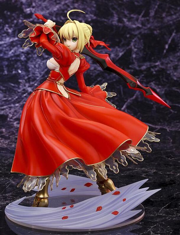 Fate/EXTRA Saber Nero 1/7 Scale Kotobukiya Japanese Anime Fate/Stay Night Saber Extra Nero Action Figure Collectibles Model Toys