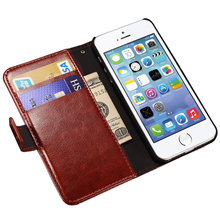 Luxury Wallet Flip Case For iPhone 5s 5 SE Apple Brand PU Leather Cover + Card Holder Stand i Phone Bag Coque Fundas For iPhone5(China (Mainland))
