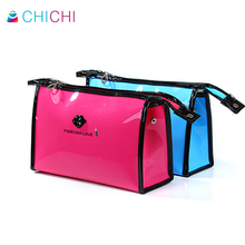 CHICHI Women Cosmetic Bag For Make Up Pouch Travel Luxury Designer Ladies Waterproof Wash Bag Cute Cartoon Lips Casual Clutch