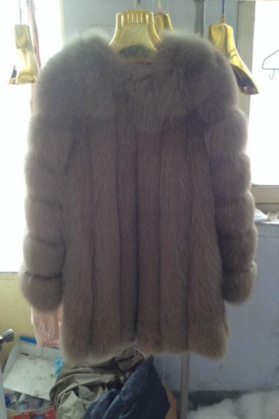 Genuine fox fur jacket women / real fur coat / real fur coats for womenОдежда и ак�е��уары<br><br><br>Aliexpress