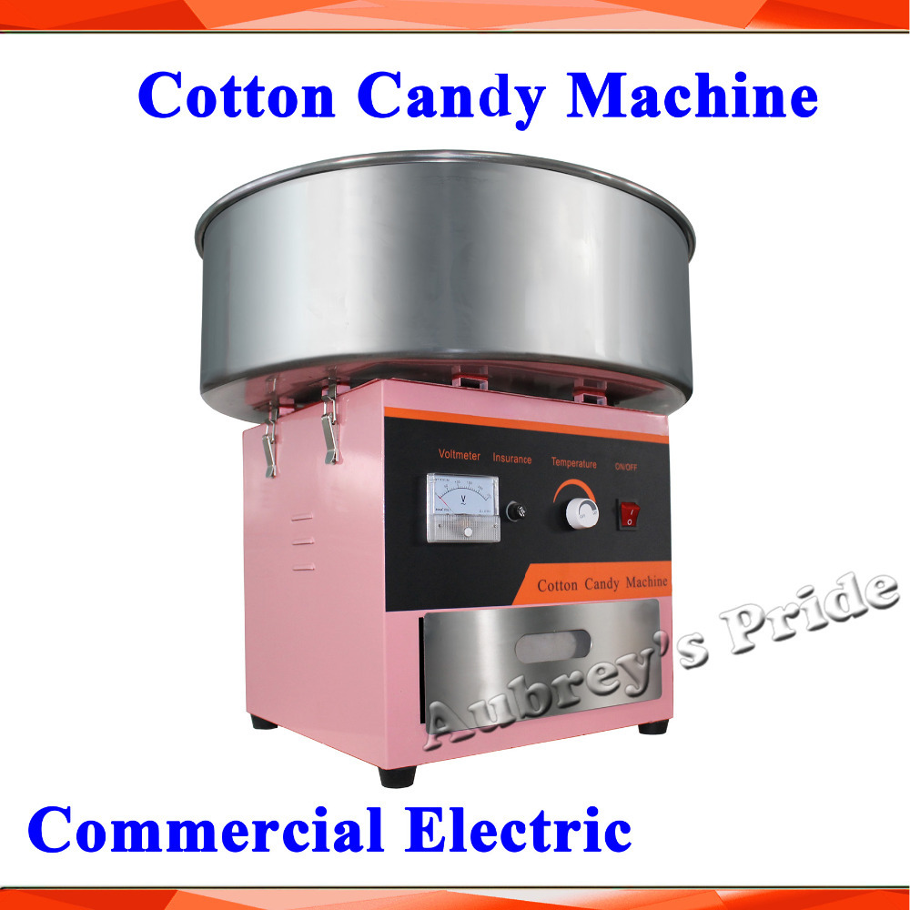 the real cotton candy maker instructions