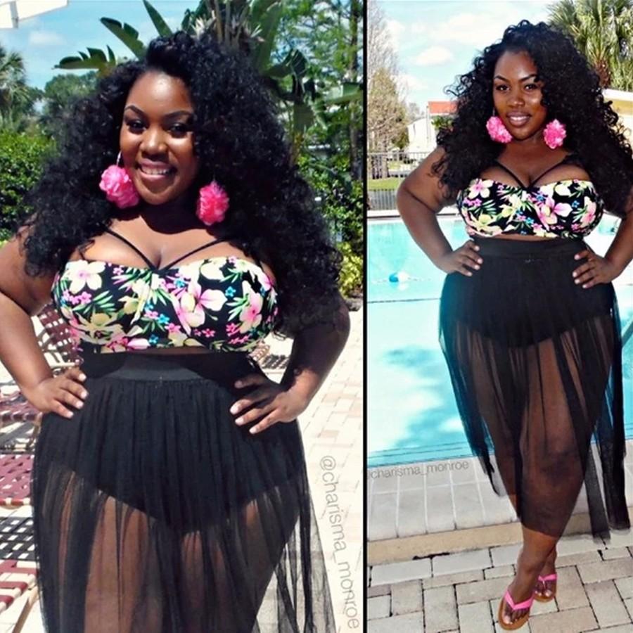 Costumi da bagno per le donne grasse promozione fai spesa - Donne grasse in costume da bagno ...