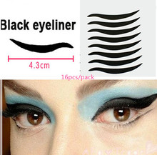Buy 80 Stickers Sexy Cat Style Eyes Sticker Black Eyeliner & Double Eyelid Tape Smoky Tattoo eye makeup Free for $1.34 in AliExpress store