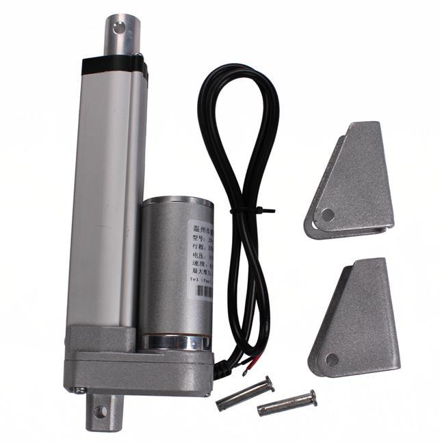 Electric Linear Actuator 12v 100mm Stroke 1500N DC Motor Linear Motion Controller with Limit Switch JS-TGZ-U2(China (Mainland))