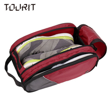 2016 New Shoes Bag Double Compartments Multifunction Women's and Men's Travel Bags Bussiness Travel Bag(China (Mainland))