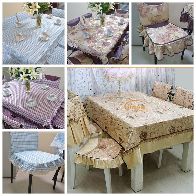 Fashion thickening quality cloth dining table cloth tablecloth table cloth multi-purpose towel tables and chairs set chair(China (Mainland))
