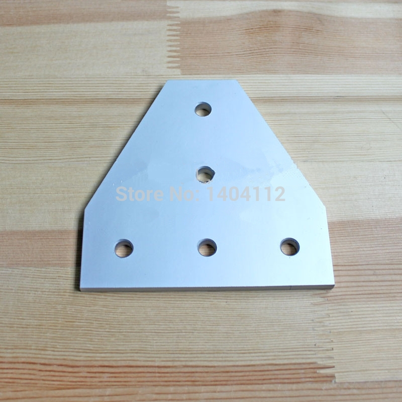 5 Hole Tee Joining Plate for 4545 Aluminum Profile 45*45<br><br>Aliexpress