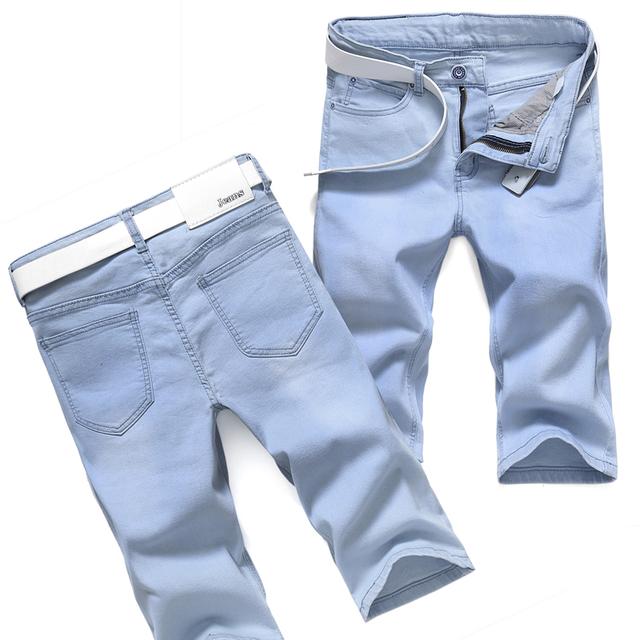 Новое поступление от гольфы прямые джинсы летние мужчины короткие джинсы xb6001-1