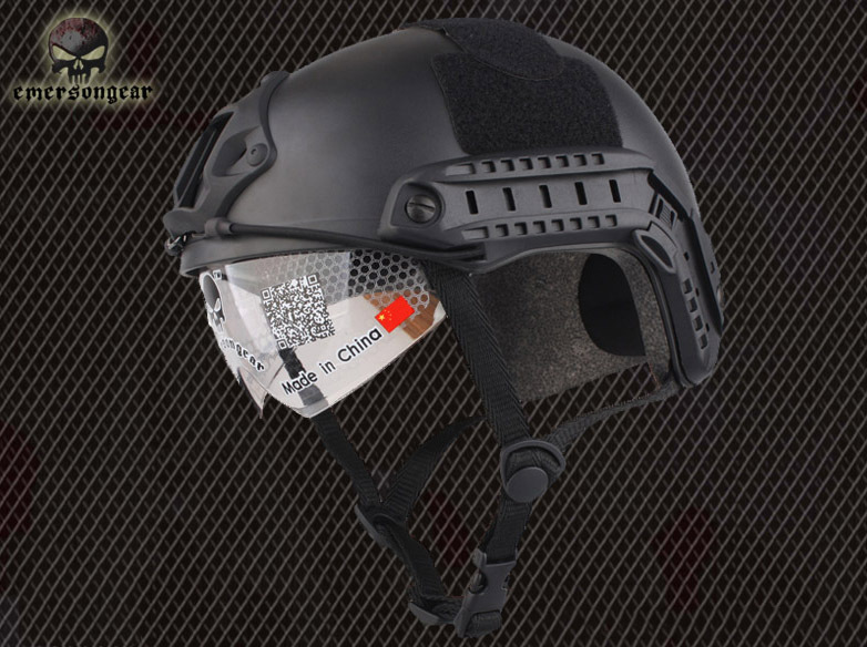 Emerson Airsoft paintball Base Jump Helmet protective goggles military Tactics helmet Wholesale Retail(China (Mainland))
