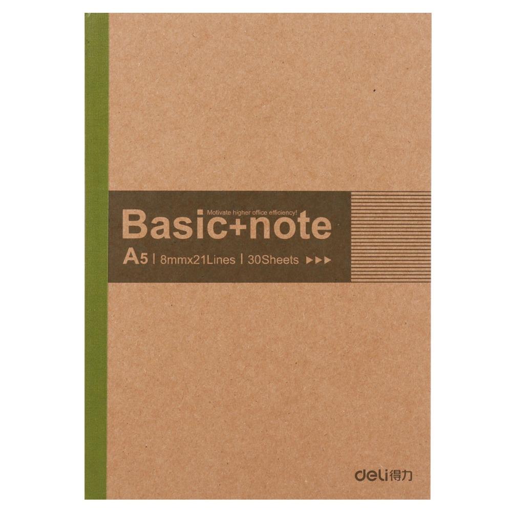 Kraft Paper Notebook a5 Vintage Planner Agenda Organizer Diary Journals Notebooks 30sheets School Office Supplies Deli 7672 - MAOJA store