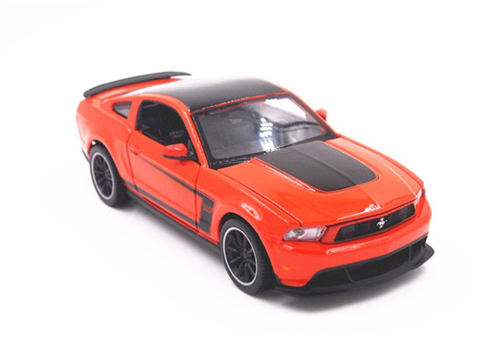 Fast & Furious 7 Maisto 1:24 Ford Mustang Boss 302 Diecast Model Car Toy Orange(China (Mainland))
