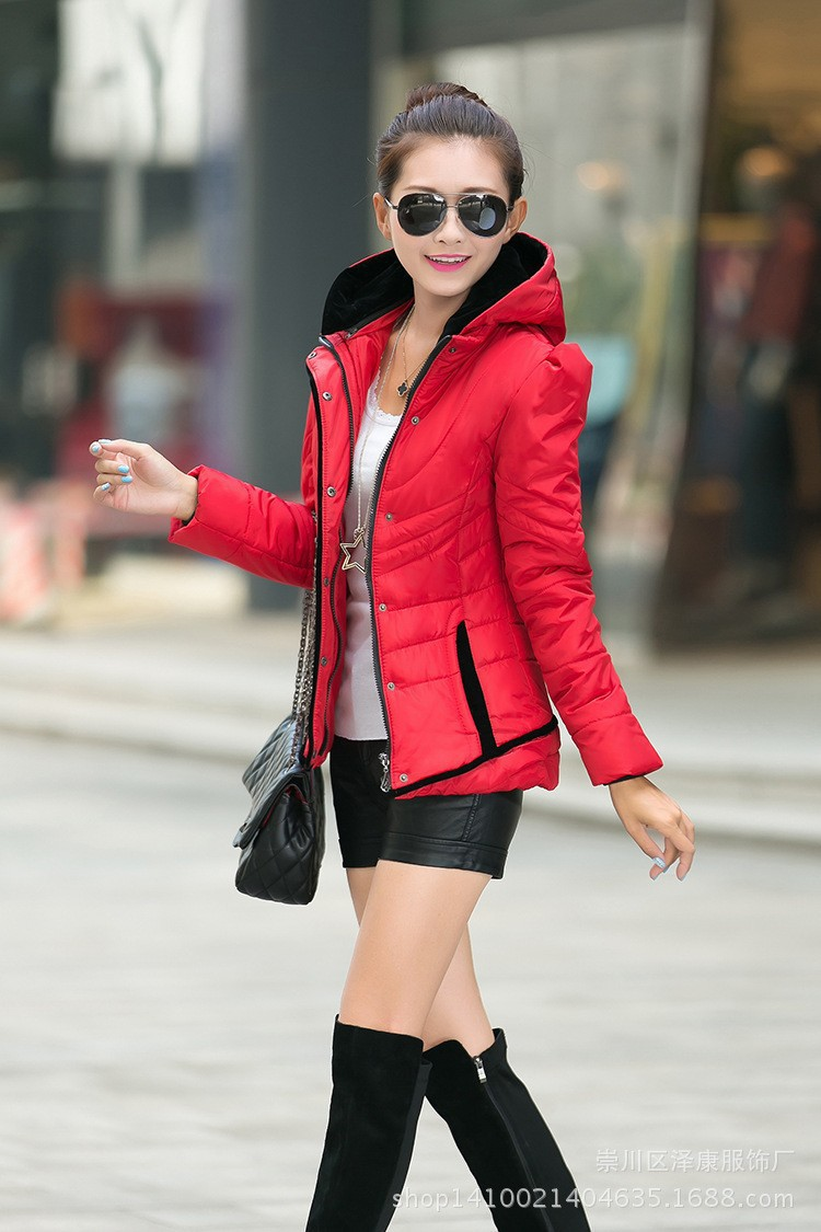 2015 winter new women's fashion casual jacket. Outdoor Slim coat. Multicolor woman Cheaper - afsjeep store